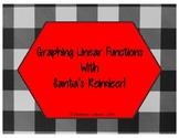 Wandering Reindeer - Graphing Linear Functions