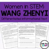 Wang Zhenyi - Women in STEM Differentiated Informational Text