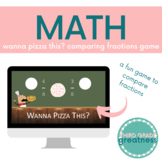 Wanna Pizza This? Comparing Fractions Game