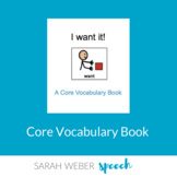 Want- Interactive Core Vocabulary Book