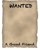 Wanted: A Good Friend-for social skills development
