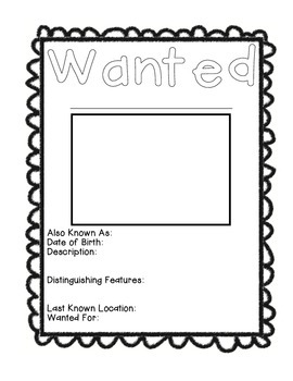 Wanted Animal Poster