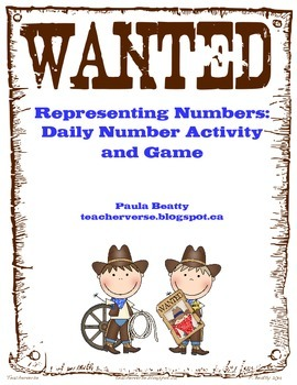Wanted! Daily Number Activity and Game