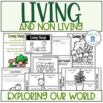 Living And Nonliving Things Worksheets Teaching Resources Teachers