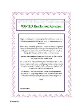 Wanted: Healthy food advertiser