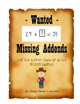 Wanted: Missing Addends