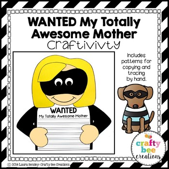 Mother's Day Craft {Wanted My Totally Awesome Mom}
