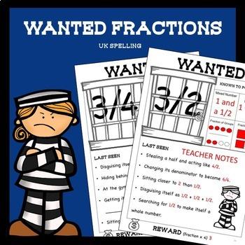 Fraction Worksheets Higher Order Thinking No Prep AUS UK