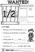 Fraction Worksheets Higher Order Thinking No Prep US