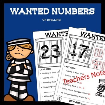 Number Worksheets Higher Order Thinking No Prep AUS UK