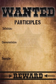 Wanted Participles