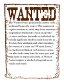 Wanted Poster Biography
