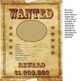 Back to School Wanted Poster - Digital and Print Version
