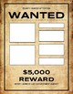 Wanted Poster (Editable in Google Slides)
