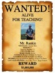 Wanted Poster (Get to know you / First days of School)
