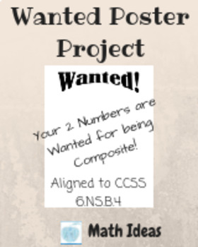 Wanted Poster Project