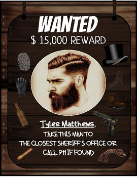 Wanted Posters Bundle