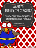 Turkey in Disguise Inference Activity