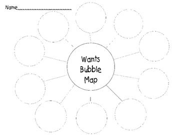 Wants Bubble Map
