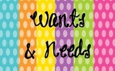 Wants & Needs
