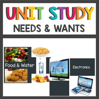 Needs and Wants Economics Unit