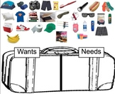 Wants and Needs Camping Trip Smartboard File