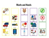 Wants and Needs Communication Board