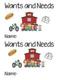 Wants and Needs Emergent and Interactive Reader