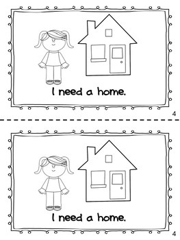 Wants and Needs Sight Word Reader