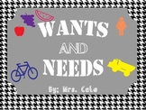 Wants and Needs Unit Pack