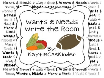 Wants and Needs: Write the Room