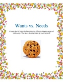 Wants vs. Needs Lesson Plan using IF YOU GIVE A MOUSE A COOKIE