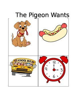 Wants vs Needs Pigeon Series