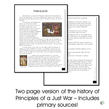 What is a Just War Debate