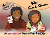 War Card Game - How to Play Resource - PCS