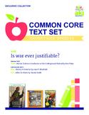 War Common Core Text Set