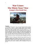 The Thirty Years' War: Europe's First World War