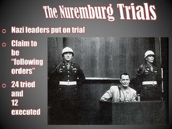 Nuremberg and Other War Crimes Trials PowerPoint Presentation