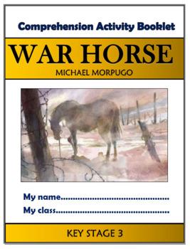 War Horse Comprehension Activities Booklet!