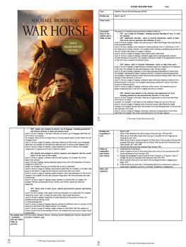 War Horse Guided Reading Plans