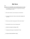 War Horse Movie Questions
