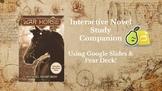 War Horse Novel Study Companion Using Google Slides with P