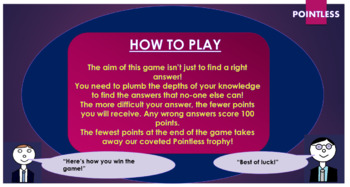 War Horse Pointless Game!