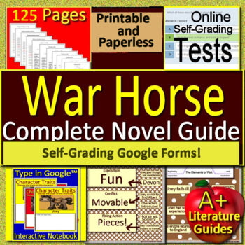 War horse novel study free sample! By a plus literature guides.