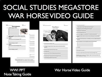 War Horse Movie Guide World War I