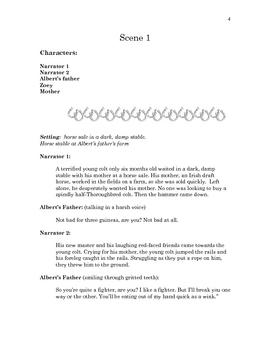 War Horse by Michael Morpurgo Readers Theatre Script