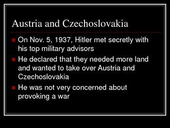 War In Europe (WWII)