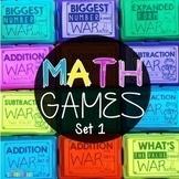 Math Games War Growing Bundle Set 1