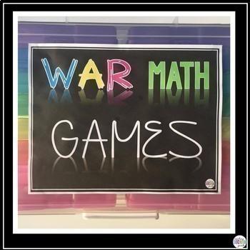 Math Games 2nd Grade Bundle Set 1
