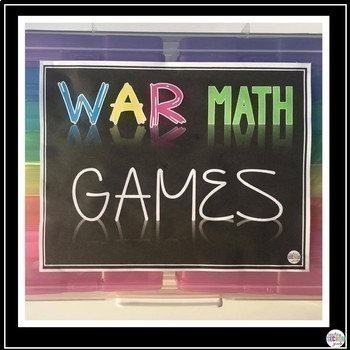 Math Centers 2nd Grade | Bundle Set 1 | Games and Activities